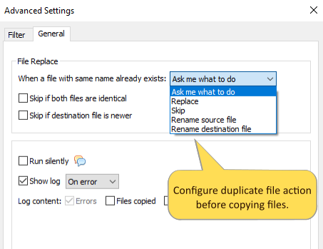 What's new in Copywhiz 5 - Have complete control over what