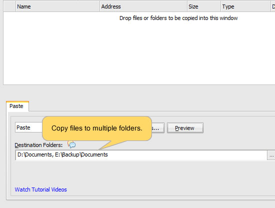 Copy files to multiple computers. Copy files to multiple folders.