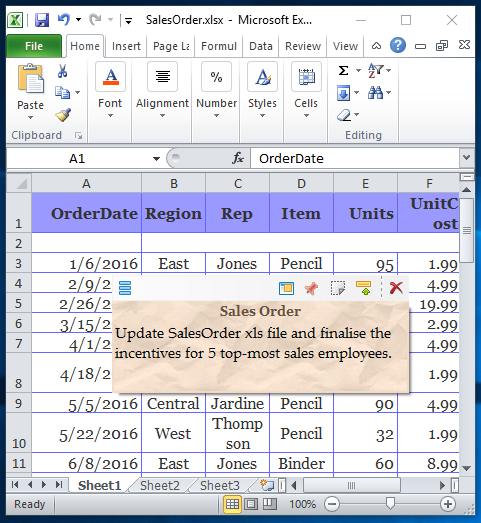 How to Change a Notepad Document Into an MS Excel File